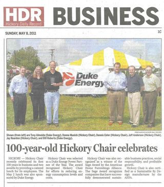 Hickory Daily Record 5 8 2011